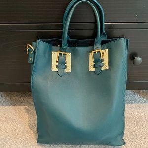 Sophie Hulme Large Soft Leather Tote Bag